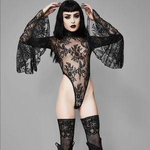 Widow Witching Hour Lace Bodysuit